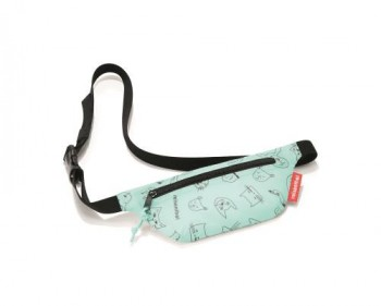 Beltbag Kids cats&dogs mint
