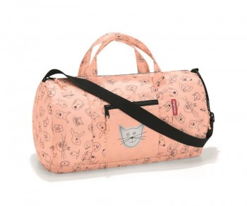 Dufflebag S Mini Maxi Kids cats & dogs rose